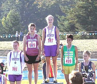 oregon cross country state meet results