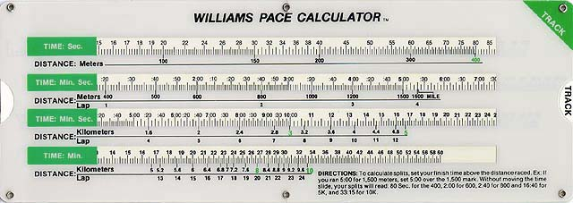 Fastest lap calculator.